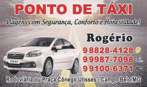 Taxi do Rogério